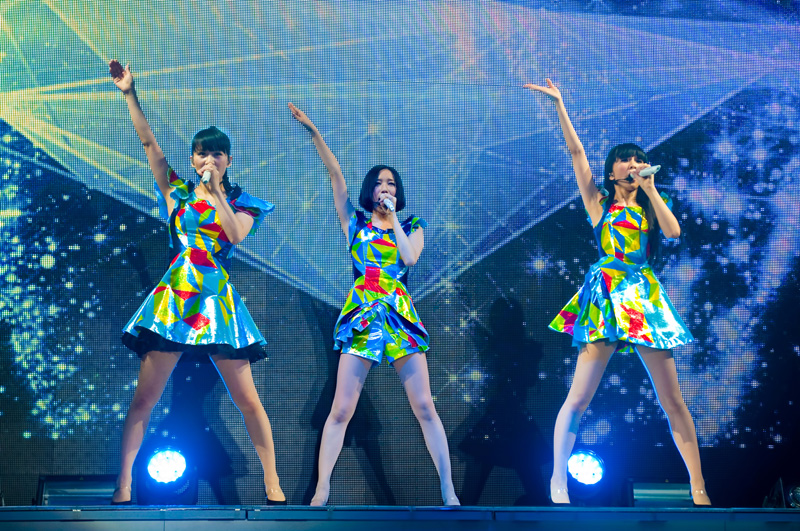 映画『WE ARE Perfume -WORLD TOUR 3rd DOCUMENT』場面写真②