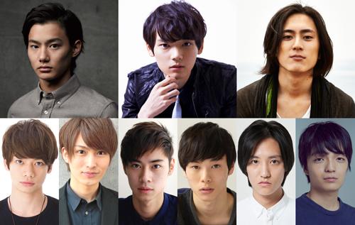 映画『ライチ☆光クラブ』のキャスト9名