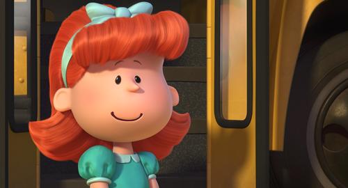 赤毛の女の子、映画『I LOVE スヌーピー THE PEANUTS MOVIE』