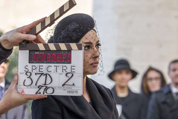 ボンドガール『007 スペクター』ルチア・スキア(モニカ・ベルッチ)