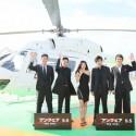 映画『アンフェア the end』東京タワー周遊ヘリコプター
