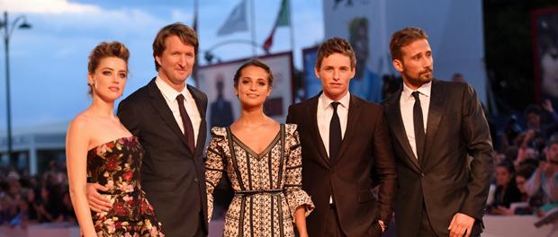 映画『ザ・デイニッシュ・ガール』第72回ヴェネチア国際映画祭レッドカーペット