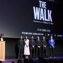 映画『ザ・ウォーク』ニューヨークプレミア舞台あいさつ