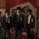 皆川猿時、神木隆之介、佐藤 健、新井浩文、桐谷健太、映画『バクマン。』より
