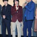 佐藤 健、神木隆之介、染谷将太 映画『バクマン。』完成披露試写会舞台あいさつ