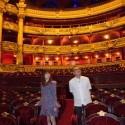 島崎遥香(AKB48)、パリのオペラ座にて