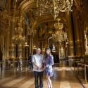 島崎遥香(AKB48)、パリのオペラ座を見学中