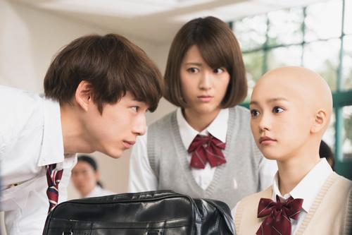 映画『ヒロイン失格』桐谷美玲の坊主頭を初公開!!