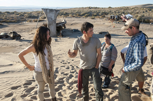 映画『メイズ・ランナー2:砂漠の迷宮』メイキング写真