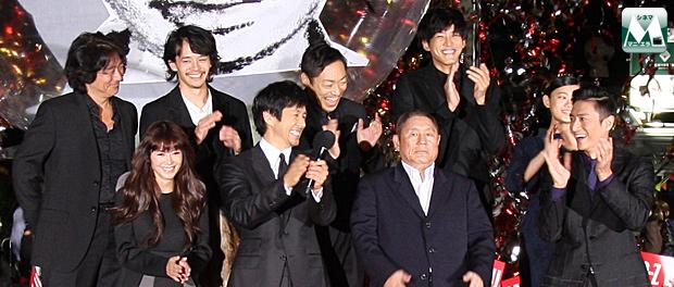 映画『劇場版 MOZU』ワールドプレミア完成イベント