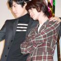 桐谷健太と神木隆之介の親蜜ポーズ