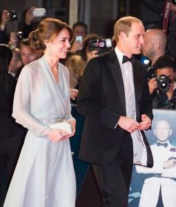 ウィリアム王子&キャサリン妃『007 スペクター』英国プレミアに御臨席
