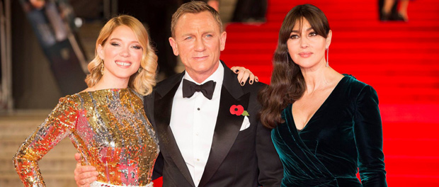 映画『007 スペクター』英国ロイヤルプレミア、表紙