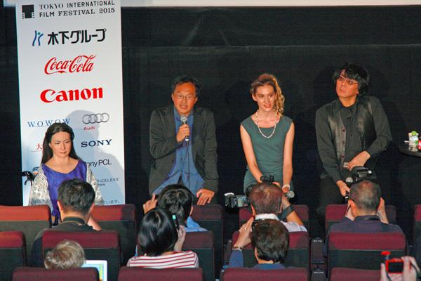 映画『さようなら』第28回東京国際映画祭コンペティション部門、上映後記者会見
