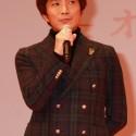 橋本光二郎監督、映画『orange』完成披露試写会舞台あいさつ
