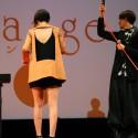 山崎紘菜、大胆カッティングのワンピース姿を披露。映画『orange』完成披露試写会舞台あいさつ