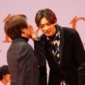 橋本監督、男性キャスト陣にお題を提示!映画『orange』完成披露試写会舞台あいさつ