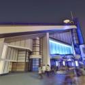 「スター・ツアーズ:ザ・アドベンチャーズ・コンティニュー」(東京ディズニーランド)ライトアップ外観
