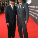 スピルバーグ監督とトム・ハンクス、映画『ブリッジ・オブ・スパイ』プレミアにて