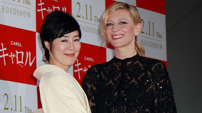 映画『キャロル』(トッド・ヘインズ監督)来日ジャパンプレミア