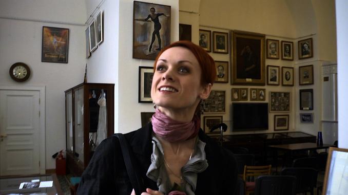 ウリヤーナ・ロパートキナ「小さい頃、家に浮世絵があったわ」