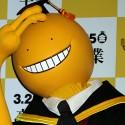 殺せんせー!映画『暗殺教室~卒業編~』完成披露会見にて