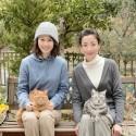 宮沢りえと前田敦子、WOWOW連続ドラマW「グーグーだって猫である2 - good good the fortune cat - 」