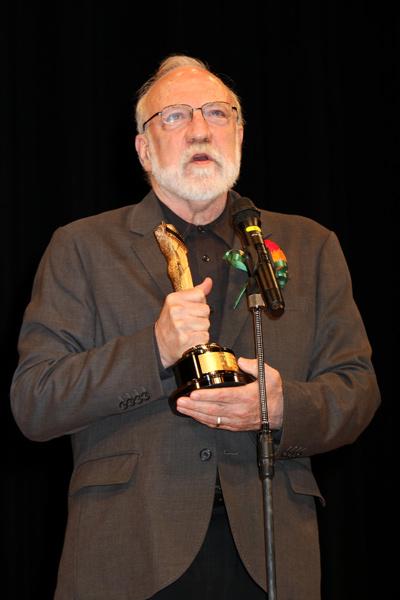 ジャン・ユンカーマン監督、第89回キネマ旬報ベスト・テン表彰式にて