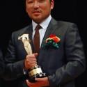 新人賞俳優・篠原篤、第89回キネマ旬報ベスト・テン表彰式にて