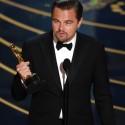 レオナルド・ディカプリオがオスカー俳優に!第88回アカデミー賞授賞式にて