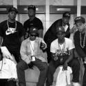 1989年「Straight Outta Compton」ツアーより、会場はミズーリ州カンザスシティ「ケンパーアリーナ」本番前のポーズ。