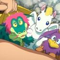 のび太は「動物遺伝子アンプル」でペガ・グリ・ドラコを誕生させる。映画『ドラえもん 新・のび太の日本誕生』(八鍬新之介監督)より