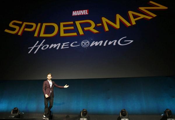 新シリーズ『SPIDER-MAN: Homecoming』タイトル発表