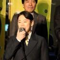 阿部サダヲ、映画『殿、利息でござる!』の完成披露イベントと試写会舞台あいさつにて