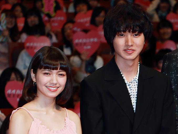 映画『オオカミ少女と黒王子』ジャパンプレミアイベントにて