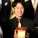 妻夫木聡、映画『殿、利息でござる!』完成披露イベント@有楽町マリオン