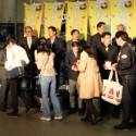 映画『殿、利息でござる!』完成披露イベント@有楽町マリオン
