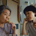 篠田淑子(樹木希林)と長女の中島千奈津(小林聡美)、映画『海よりもまだ深く』(是枝裕和監督)より