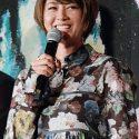 真木よう子、映画『海よりもまだ深く』舞台挨拶付き完成披露試写会にて