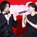 斎藤工と綾瀬はるか、映画『高台家の人々』レセプションパーティ