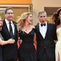 ジョディ・フォスター、ジュリア・ロバーツ、ジョージ・クルーニーとアマル夫人ほか、映画『マネーモンスター』第69回カンヌ国際映画祭レッドカーペットにて