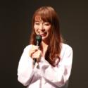 ファンの悩み事に答える内田理央、2016年5月「だーりおファンミーティング!」にて