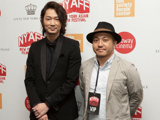綾野剛と白石和彌監督、第15回ニューヨーク・アジア映画祭にて
