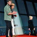 [全身写真]リアム・ヘムズワース、映画『インデペンデンス・デイ:リサージェンス』来日記念会見in東京スカイツリーにて