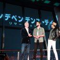 映画『インデペンデンス・デイ:リサージェンス』来日記念会見のエメリッヒ監督、リアム・ヘムズワース、ジェフ・ゴールドブラム、マイカ・モンロー
