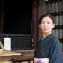 佐田千重子(松雪泰子の1人二役)、映画『古都』(Yuki Saito監督)より