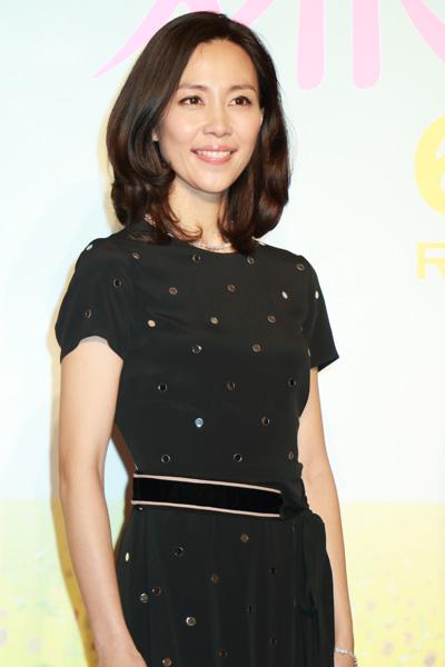 木村佳乃、映画『嫌な女』完成披露プレミア試写会フォトコールにて
