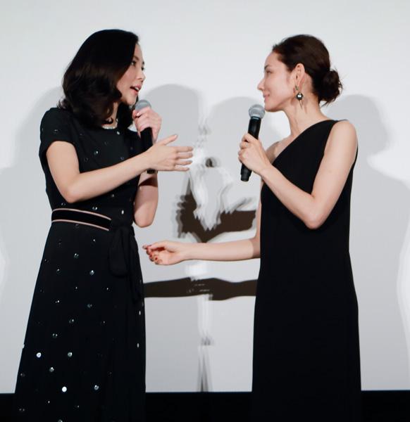 木村佳乃、吉田羊が映画『嫌な女』でのバトルシーンを語る
