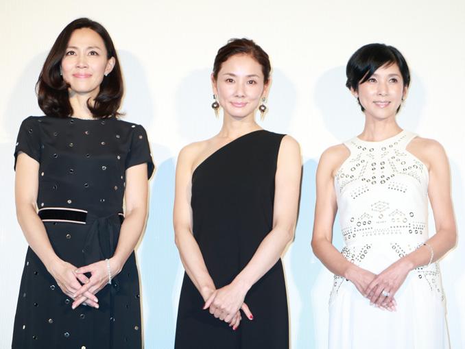 木村佳乃、吉田羊、黒木瞳監督、映画『嫌な女』完成披露プレミア試写会舞台あいさつにて