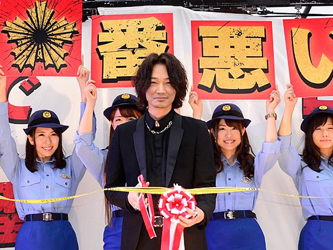 綾野剛、新宿日悪署・署長に就任!